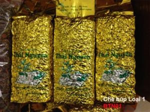 Chè Tân Cương Thái Nguyên gói vàng