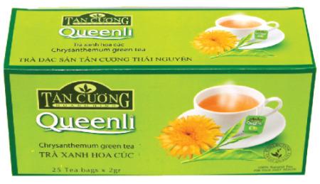 Sản phẩm trà hoa cúc chăm sóc sức khoẻ